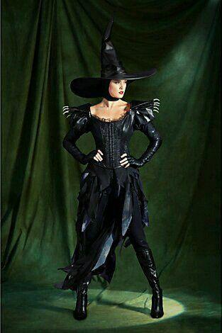 Bruja Oz Vestido De Bruja Halloween Disfraces Disfraz De Bruja
