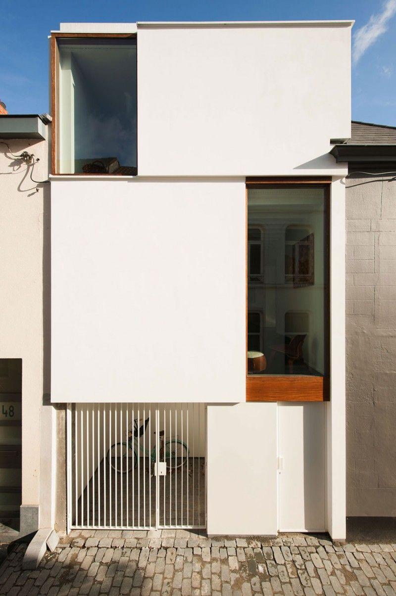 Belgique : Maison de ville contemporaine LKS par P8 architectes ...