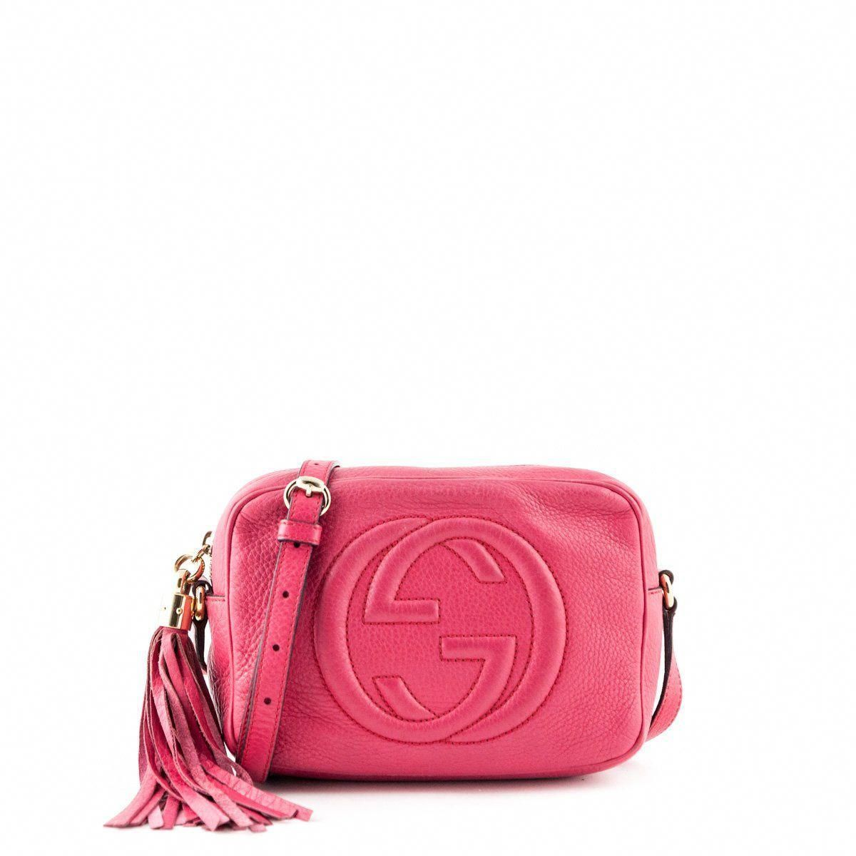 299937dfe7fc Gucci Pink Soho Disco - Luxury Consignment for Bags in Canada .
