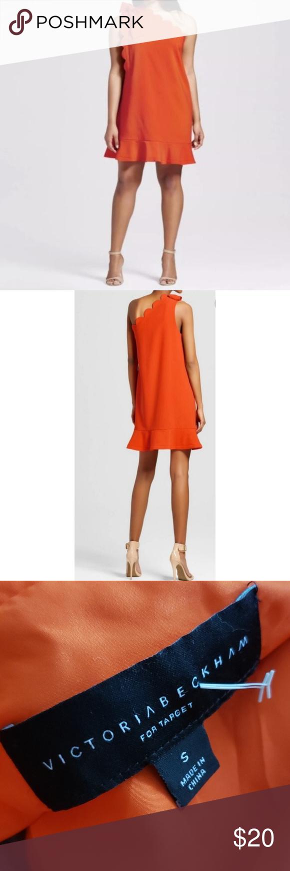 3 For 20 Victoria Beckham For Target Orange Dress Victoria Beckham Target Victoria Beckham Target Dresses [ 1740 x 580 Pixel ]