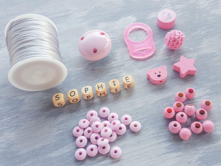 Photo of DIY Schnullerkette für Ihr Baby – Schritt für Schritt Anleitung – Daydreamin – Blog