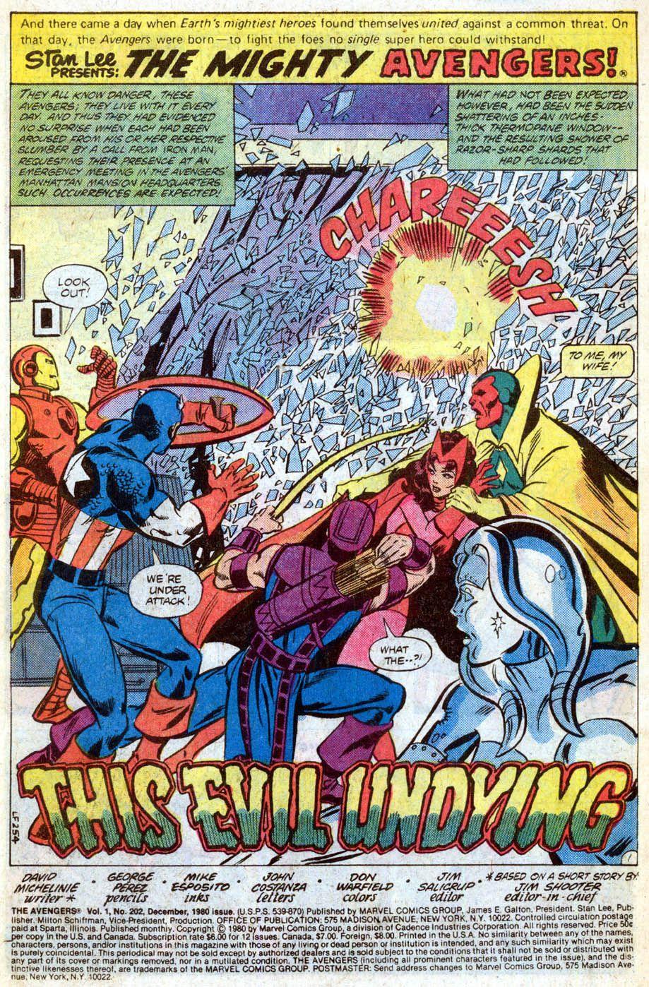 Avengers No. 202
