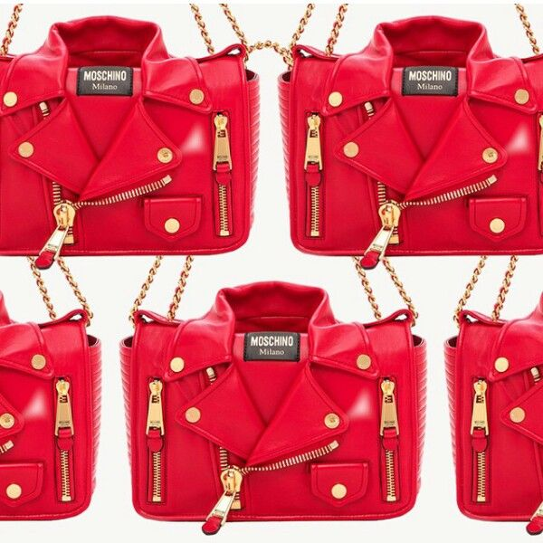 Moschino perfect bag red for valentine day