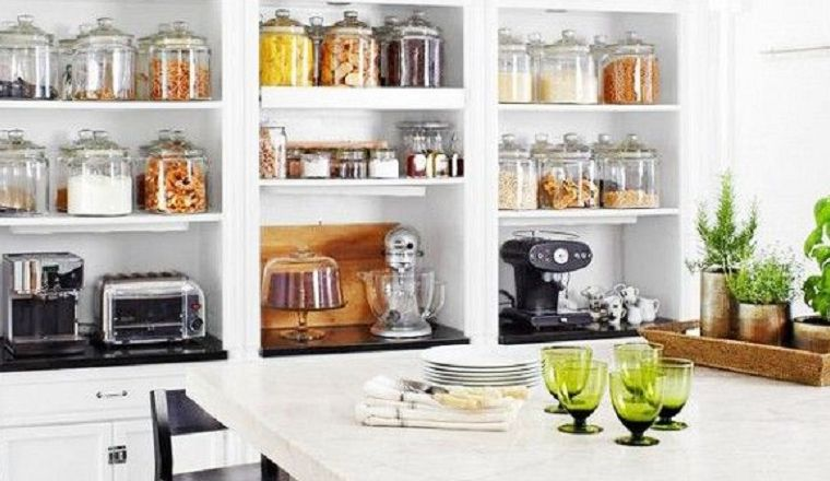 Ideas Keuken Opbergen : 10x stijlvol je eten opbergen in de keuken kitchen ideas kitchen
