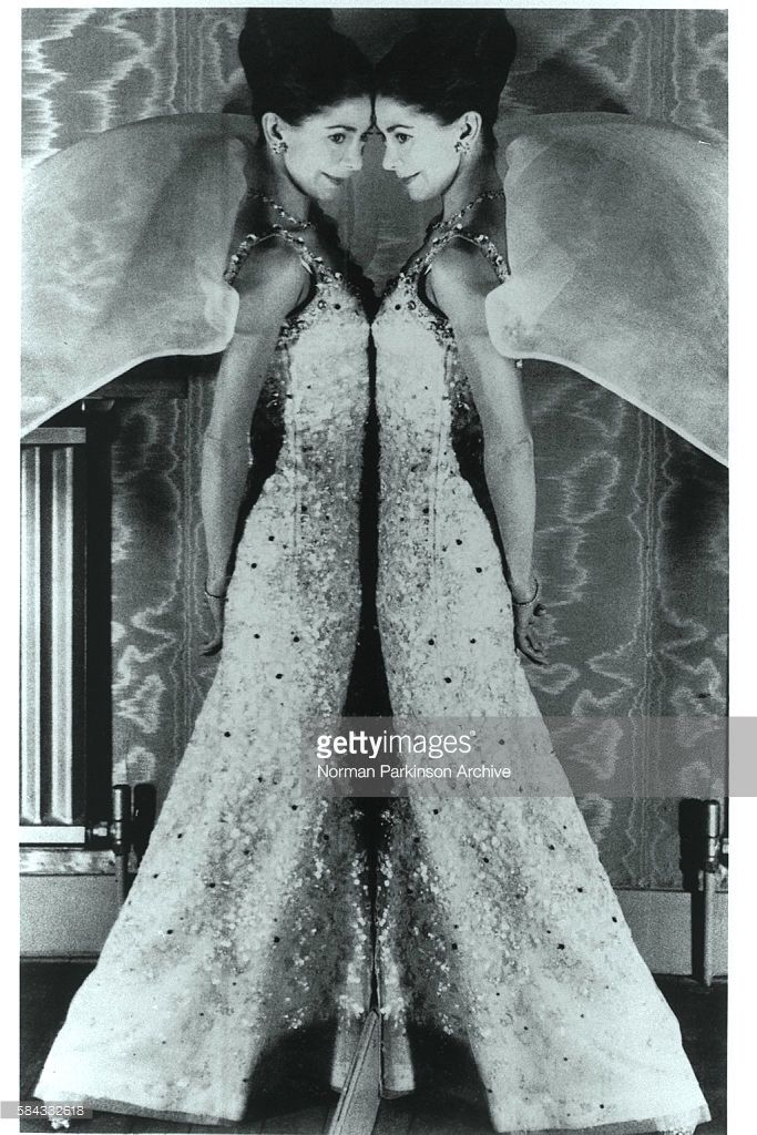 News Photo : British dancer Margot Fonteyn dressed in Dior.
