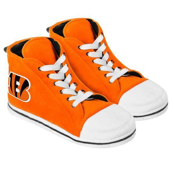 06716c91497f Men s Cincinnati Bengals NFL Puffy High Top Slippers
