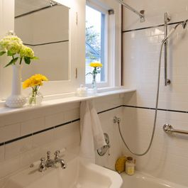 Kirk Riley Design Seattle Vintage Bathroom Restoration  Kirk Pleasing Bathroom Design Seattle Decorating Inspiration