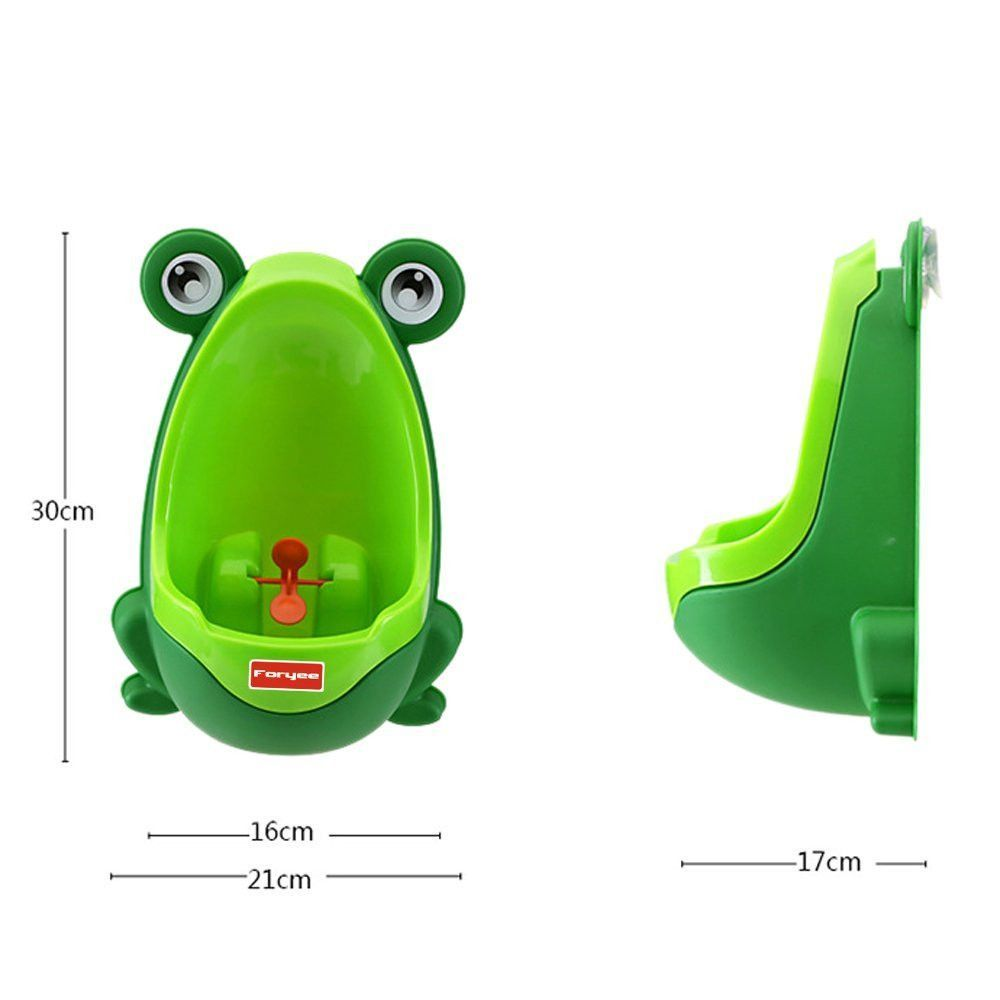 Baby Boys Potty Training Stand Vertical Urinal Groove with Funny Aiming Target