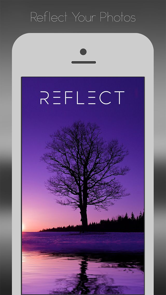 Reflect Mirror Camera on App Store:   Reflect is a fun and simple way to add reflections and create beautiful photos. Watch a Video: http://ift.tt/1uzTVtV Create beautiful photos and share your reflections with the world. Features unlike any other app including oceans lensflares and atmos...  Developer: BrainFeverMedia  Download at http://ift.tt/10oA8mf