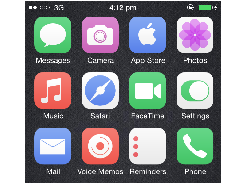 iOS Icons another color variant Ios icon, Icon, Best icons
