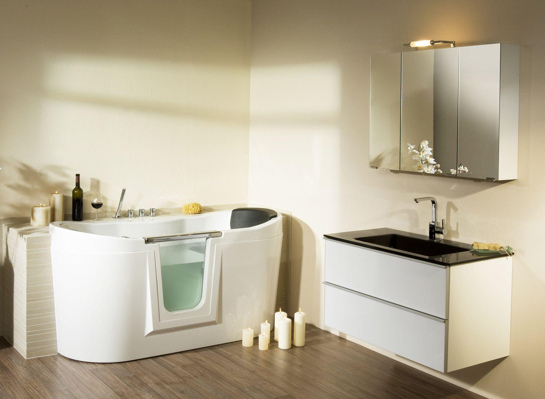Kombination Badewanne Dusche Barrierefrei | Walk In Tubs Shower ...