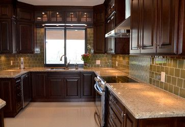 KabCo Kitchens Designed This Space In Showplace Cherry. Our Oxford Door Was  The Door Of