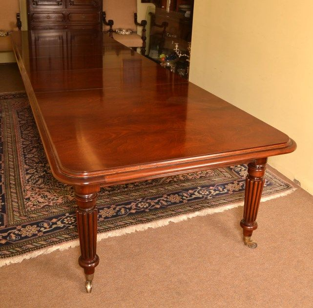 Vintage Victorian Dining Conference Table Ft Mahogany Tables - Antique conference table