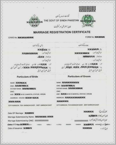 Pin by Zahid Akhtar on Muslim Nikah Pinterest - marriage certificate