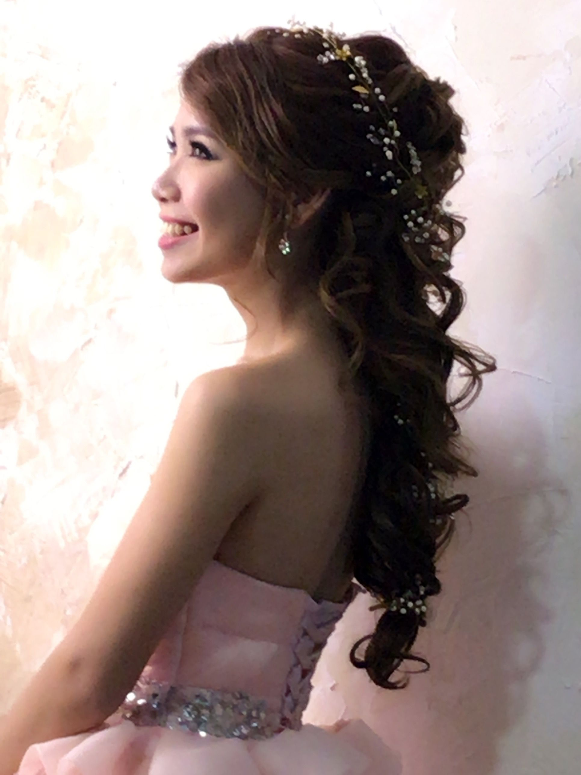 Pin by yuki fang on bride wedding hairstyle pinterest