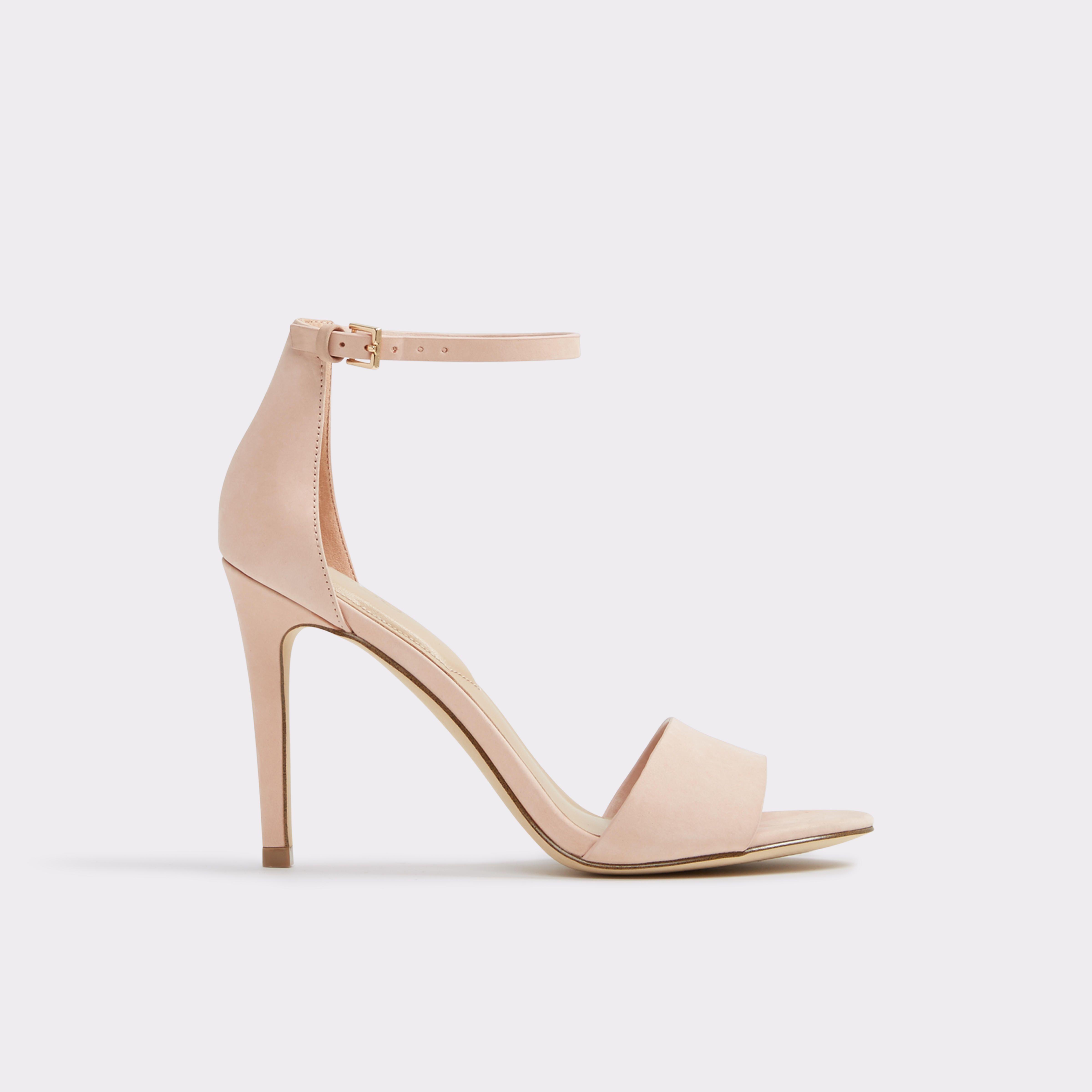 Fiolla Light Pink Women s Open-toe heels  ab66cd1936