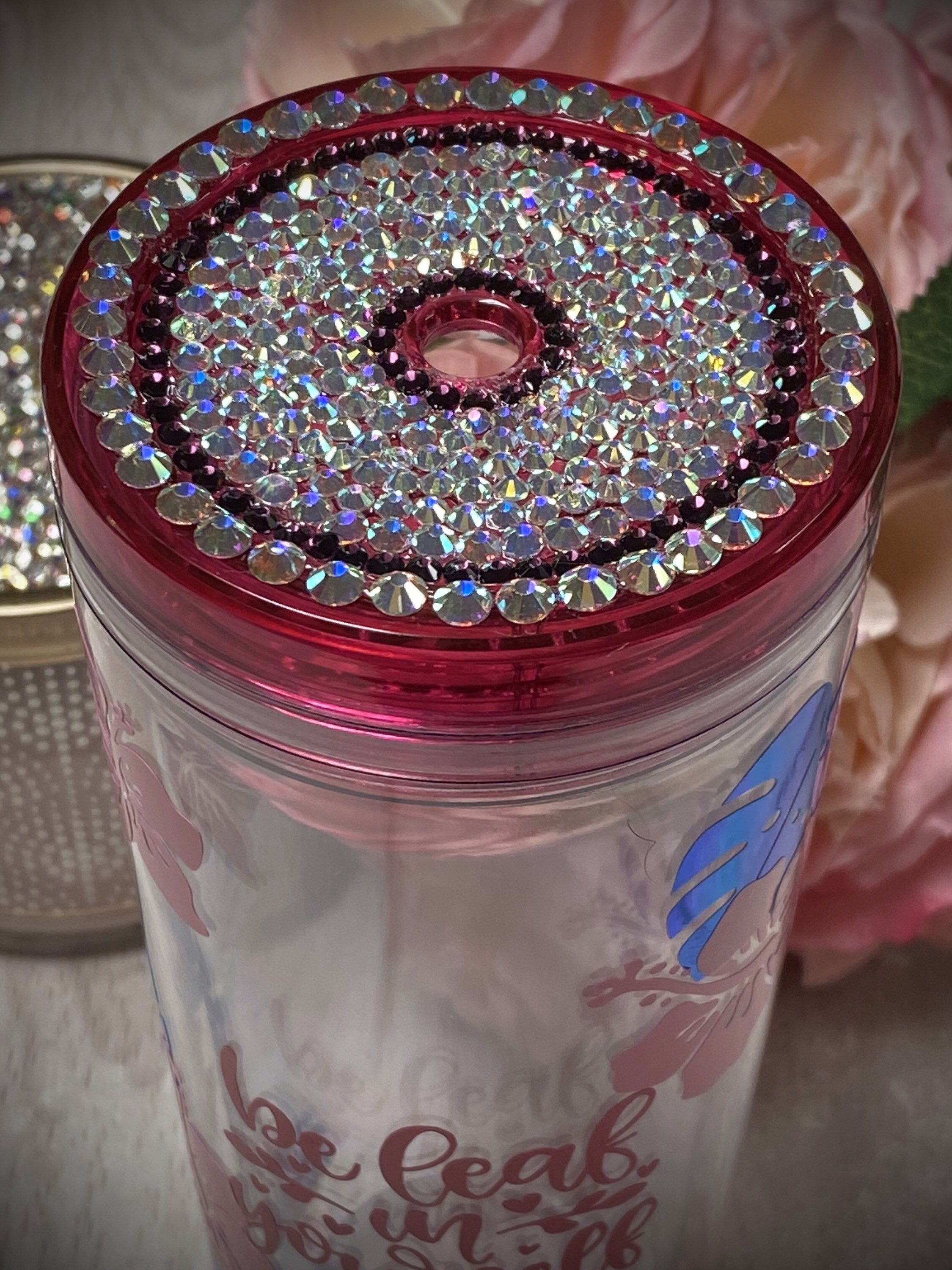 Tropical Acrylic Skinny Tumbler Personalized Customizable Etsy In 2020 Skinny Tumblers Reusable Tumbler Drinking Cup