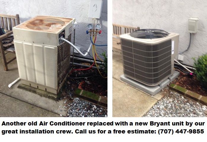 Another Old Air Conditioner Replaced By Our Expert Crew Hvac Air Heating Hvac Unit Hvac