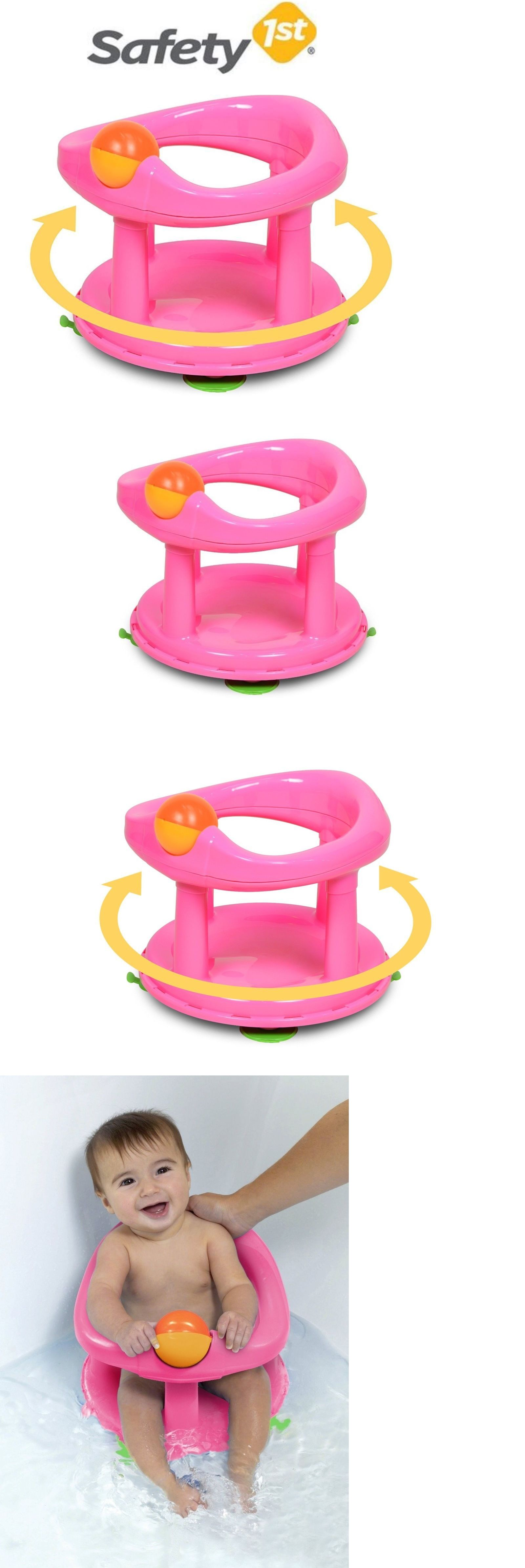 Baby Bath Tub Ring Safety First 1st Anti Slip Seat Toddler infant ...