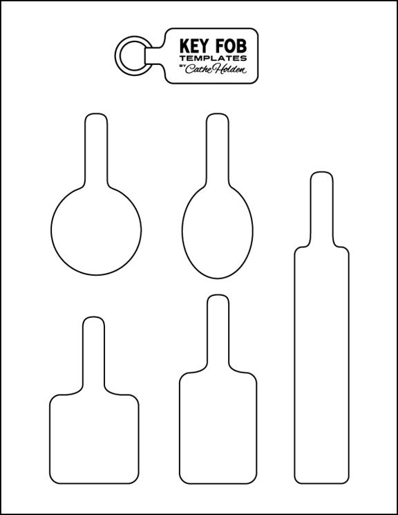 leather key fob pattern google search