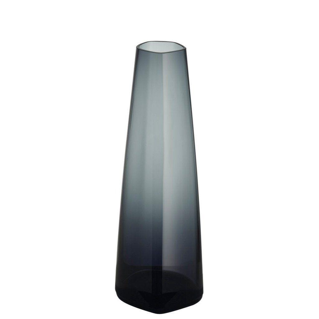 Issey Miyake X Iittala Vase Glass 7 Dark Grey Glass