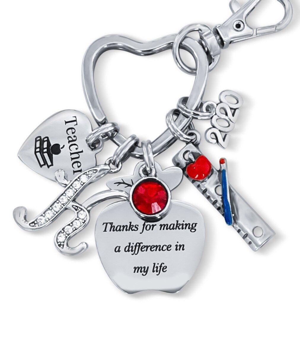 Teacher Gift Ideas Personalized Teacher Gifts Teacher Christmas Gift TEACHER GIFTS Teacher Keychain Gift For Teacher Unique Teacher Gift