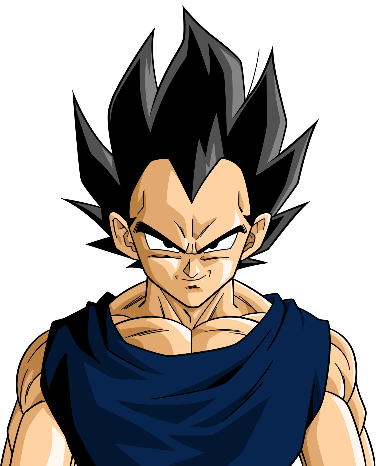 vegeta hair naruto pinterest dessin