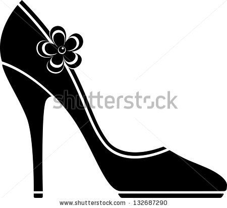 Free SVG High Heel Vector Shoes Silhouettes - Pesquisa Google