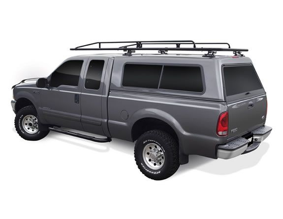 Pro Iii Ladder Rack All Sizes Types Of Camper Shell Truck Caps