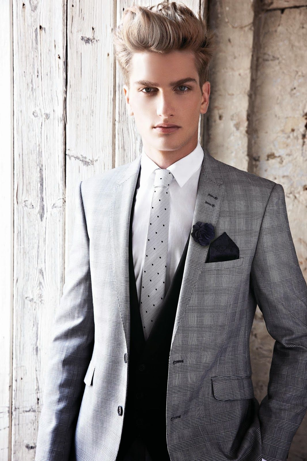 3 piece grey | Wedding suit ideas | Pinterest | Grey, Search and Black