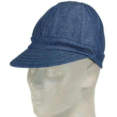 Kromer Caps Usa Made Denim Welding Cap Welding Caps Cap Denim