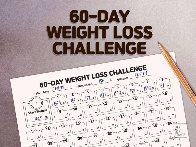30 zi weightloss challenge calendar