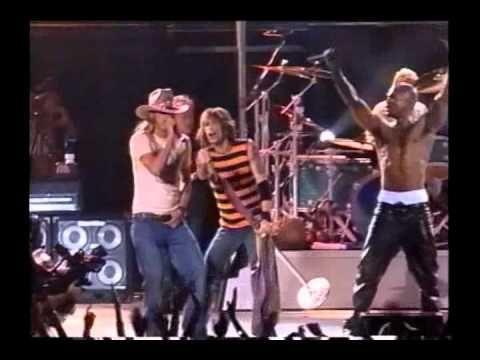 Aerosmith Walk This Way With Run Dmc And Kid Rock Camden 2002 Aerosmith Walk This Way Kid Rock Run Dmc