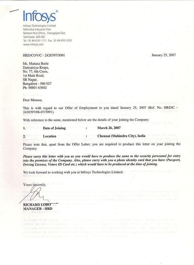 Offer Letter  SharedCom Download Free    Offer Letter