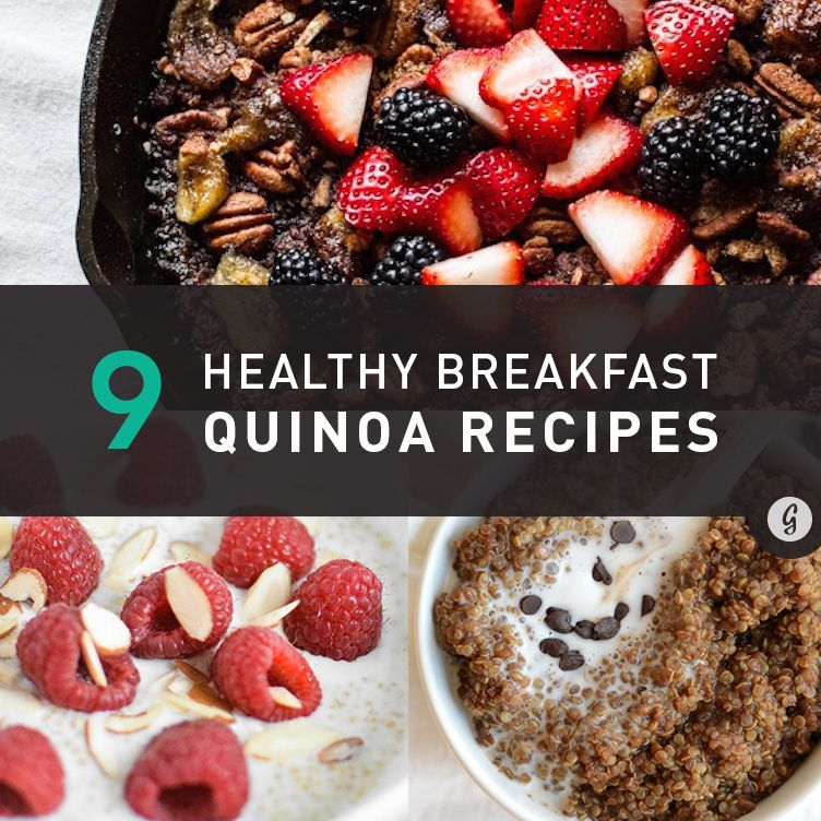 27 Breakfast Quinoa Recipes That'll Make You Forget All About Oatmeal