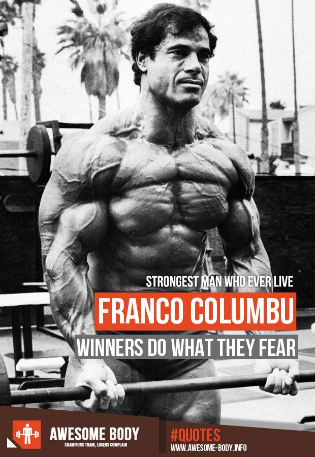 Franco columbo bodybuilding bodybuilders before and after