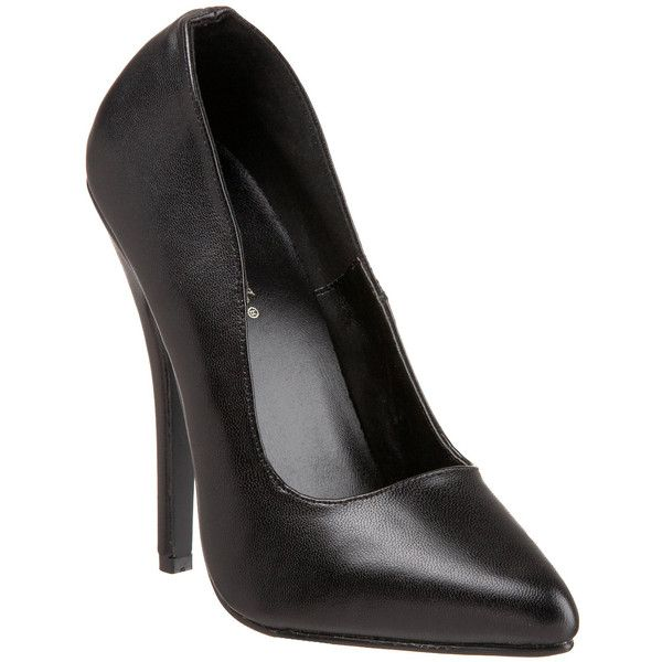 7f4c58e2dcde Leather Court Shoes. Black High Heels. Pleaser Women s  domina-420  6-Inch  Classic Leather Pumps ( 70)