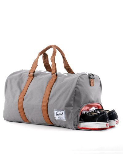 Herschel Supply Co. Novel Duffle Bag - Grey/Tan Herschel Supply Co ...