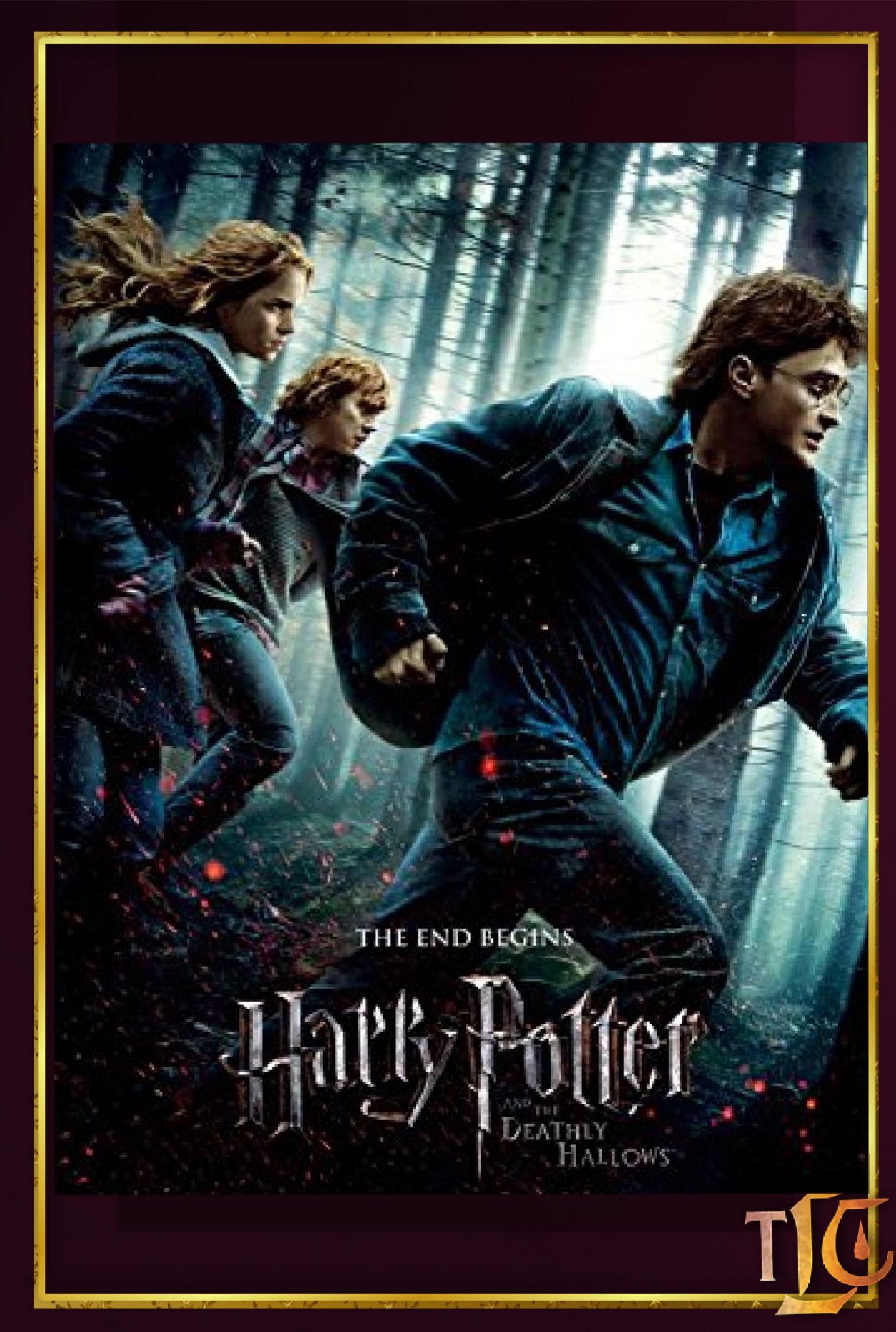 Harry Potter And The Deathly Hallows Part 1 Time For A Rewatch Harry Potter Movie Posters Deathly Hallows Part 1 Deathly Hallows Movie