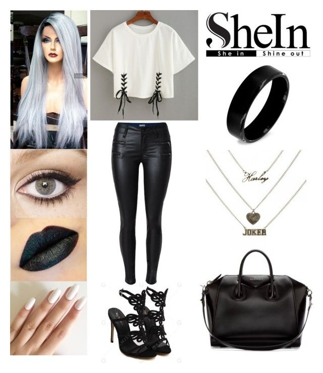"""Shein"" by xcoordinatingfashionx ❤ liked on Polyvore featuring West Coast Jewelry, Givenchy and Charlotte Tilbury"