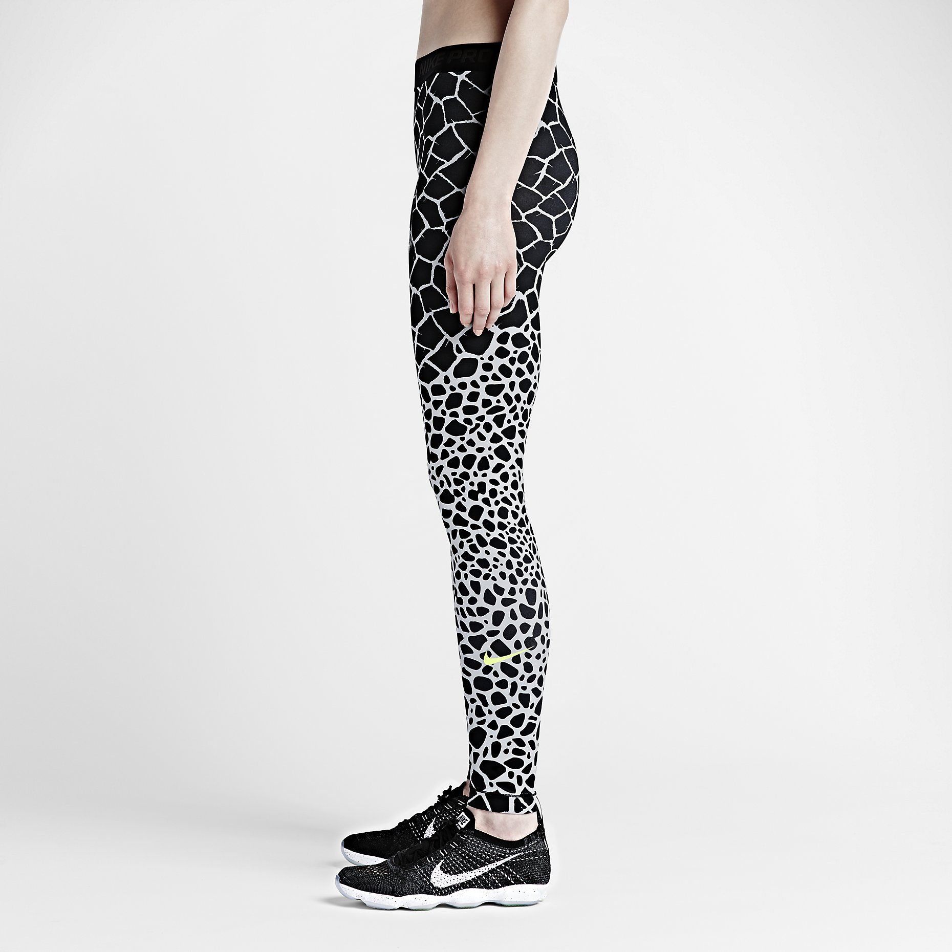 best place official site arriving Nike Pro Engineered Giraffe Women's Training Tights. Nike ...