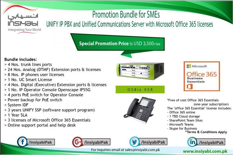 Promotions Unified Communications Systems Integrator Pbx