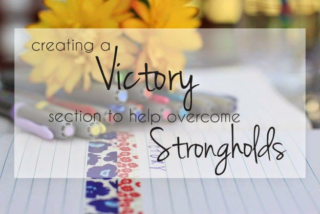 Creating a Victory Section in your Journal