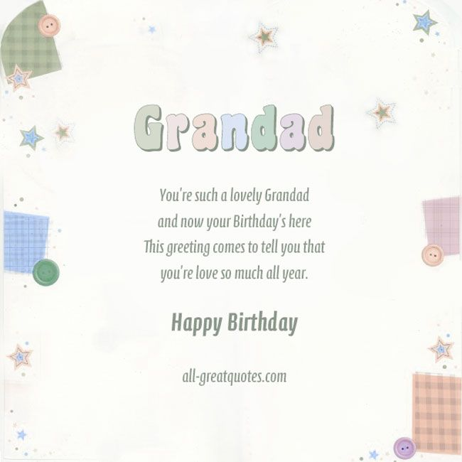 Surprise your grandfather with a lovely free birthday card 23 images happy birthday wishes for grandfather and best wishes cards bookmarktalkfo Gallery