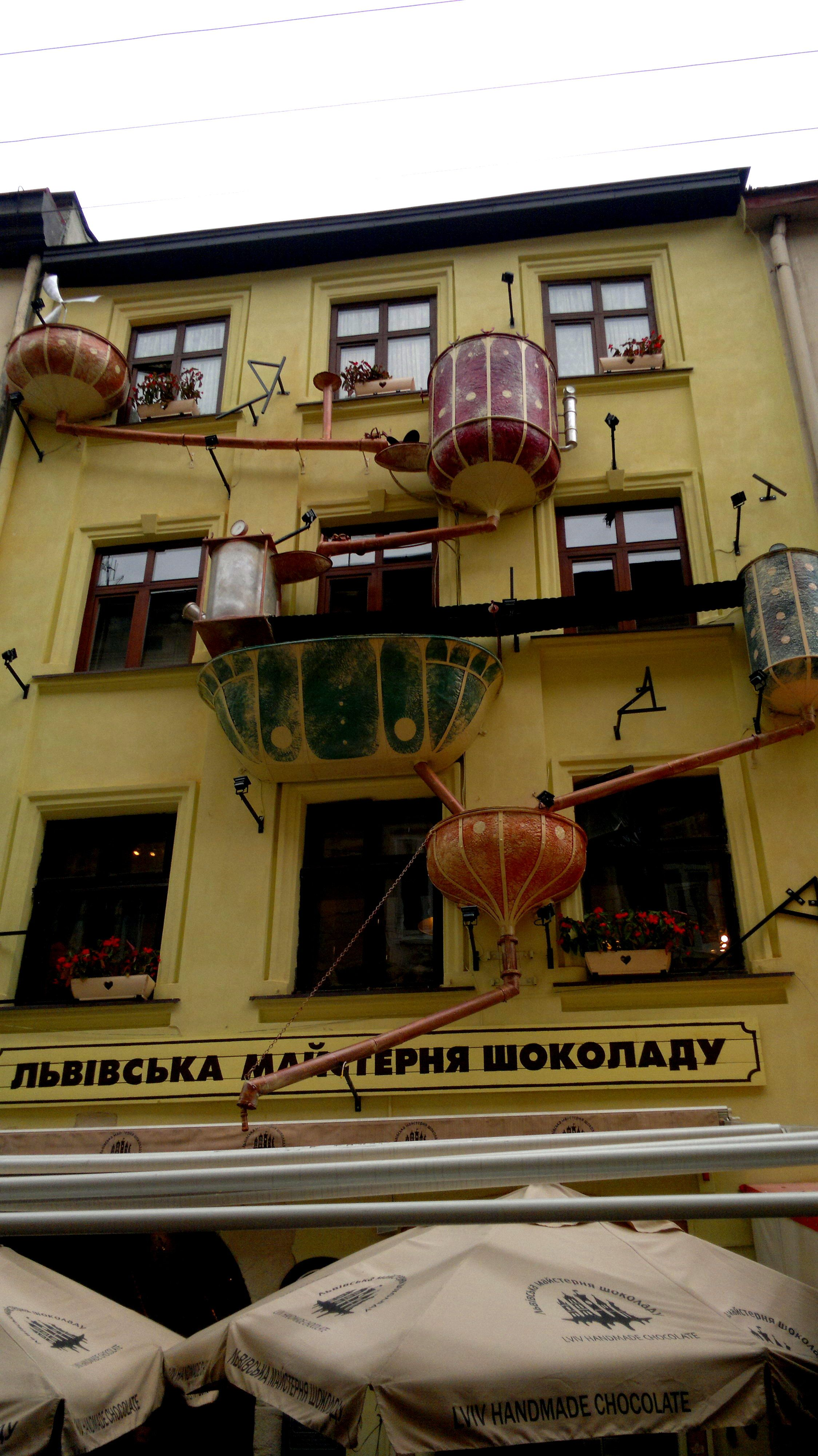 Lviv Ukraine The Chocolate Factory Lviv Ukraine Chocolate Factory