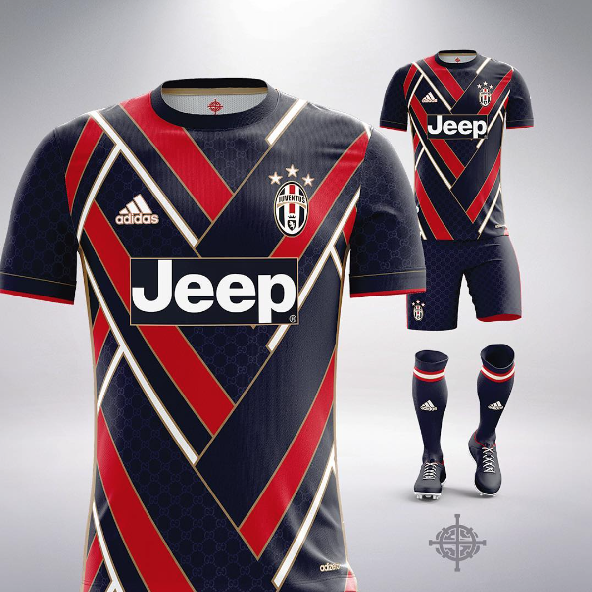 Football X Luxe By Marlon Settpace Juventus X Gucci 2 Randomness
