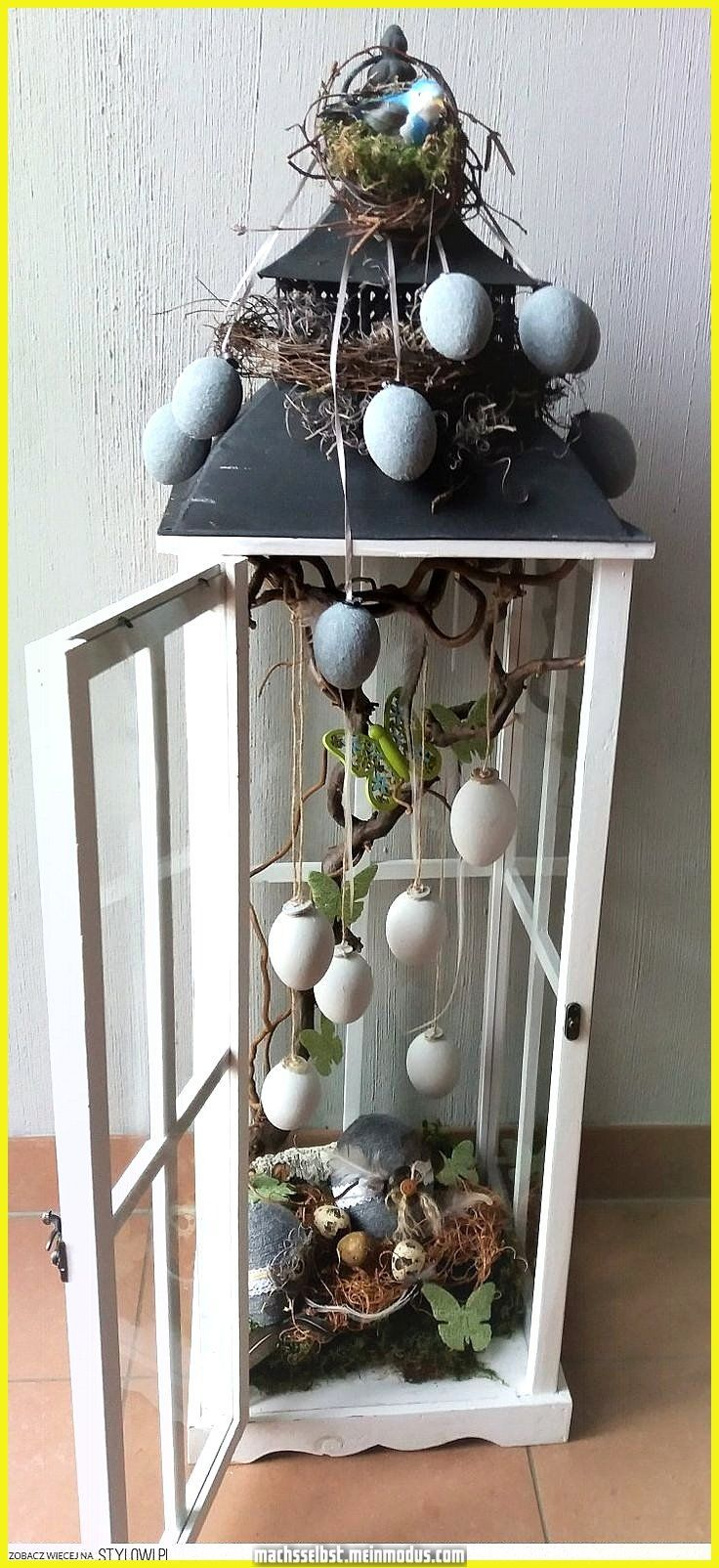 Photo of Fantastic – # pastel deco spring # deco spring – Easter decoration garden concrete