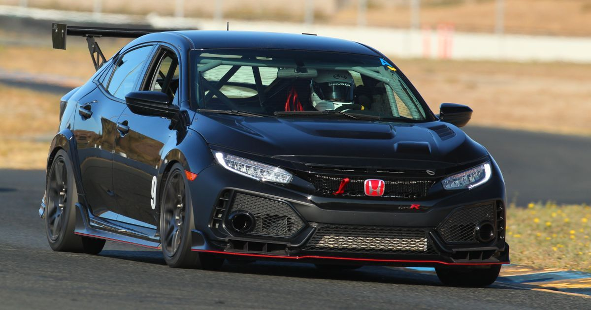 The Honda Civic Type R TC Is A Box-Ready Racer For $90k