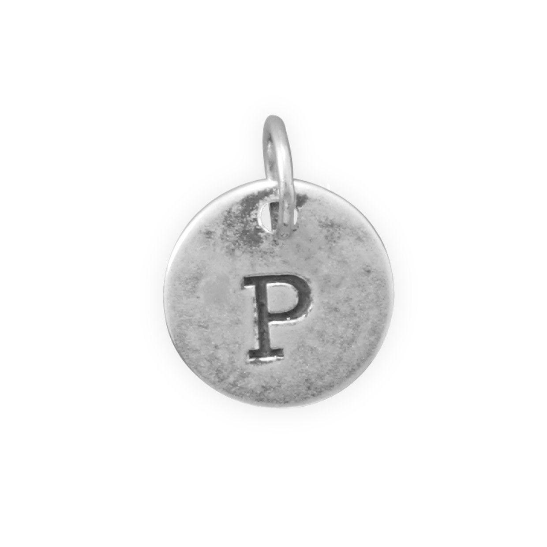 """Oxidized Initial """"P"""" Charm"""