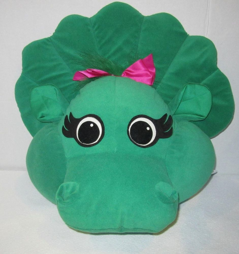 Vintage Barney And Friends Baby Bop Head Plush Stuffed